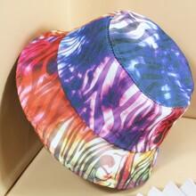 Sombrero cubo de colores