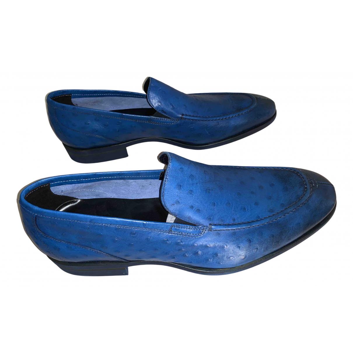 Baldinini \N Espadrilles in  Blau Exotenleder