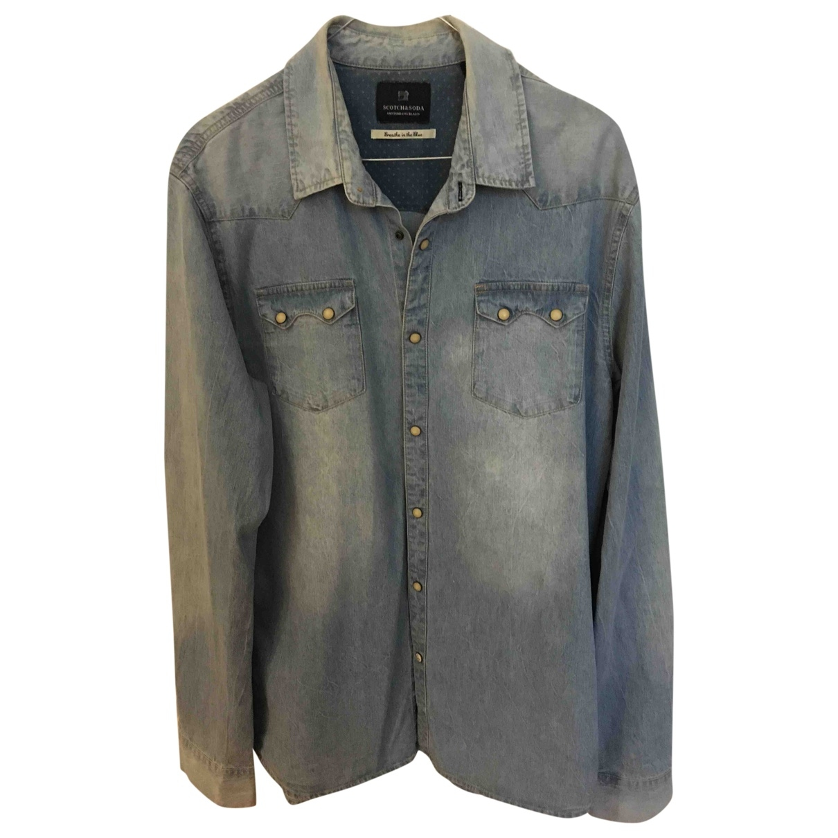 Scotch & Soda \N Hemden in  Blau Denim - Jeans
