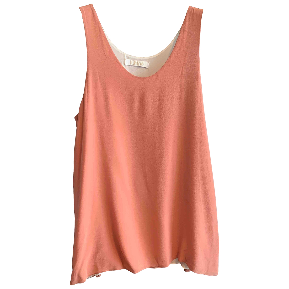 Chloé \N Pink Silk  top for Women 36 FR