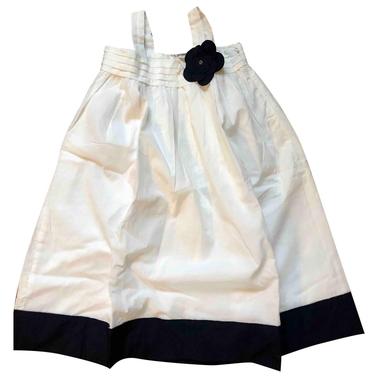 Jacadi - Robe    pour enfant en coton - blanc