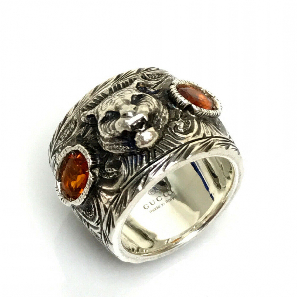 Gucci \N Ring in Silber