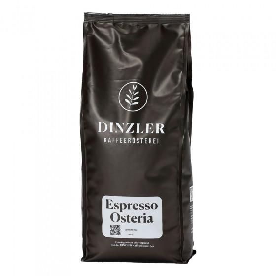 """Kaffeebohnen Dinzler Kaffeerosterei """"Espresso Osteria"""", 1 kg"""