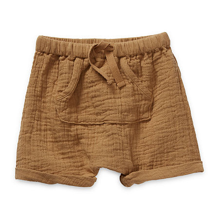 Okie Dokie Baby Boys Pull-On Short, 24 Months , Yellow