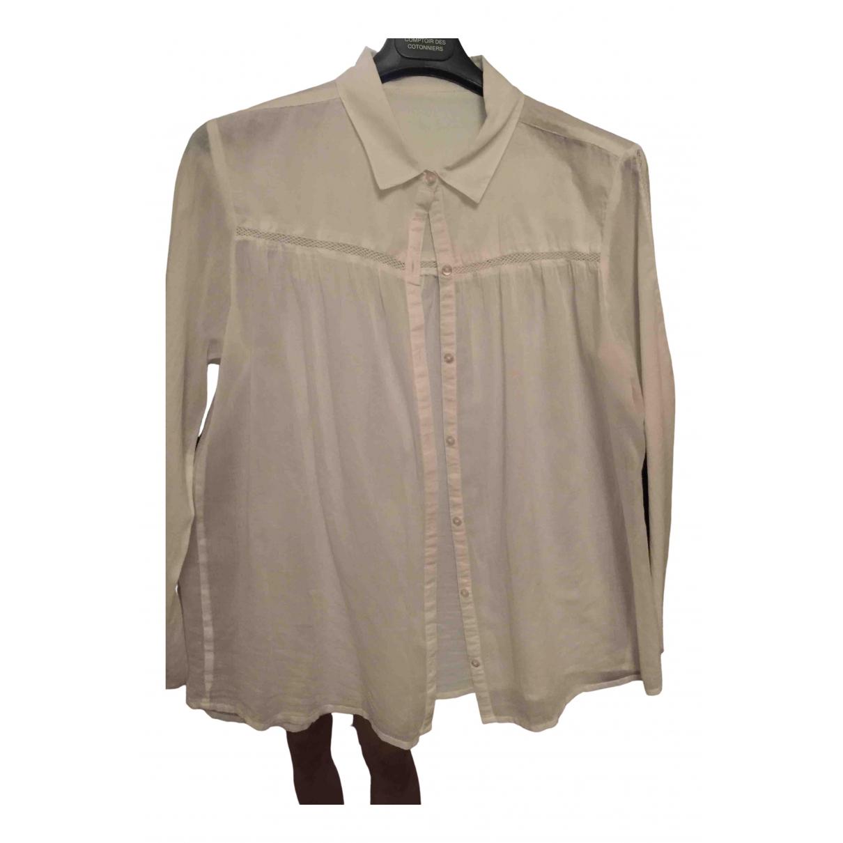 Berenice \N White Cotton  top for Women 36 FR