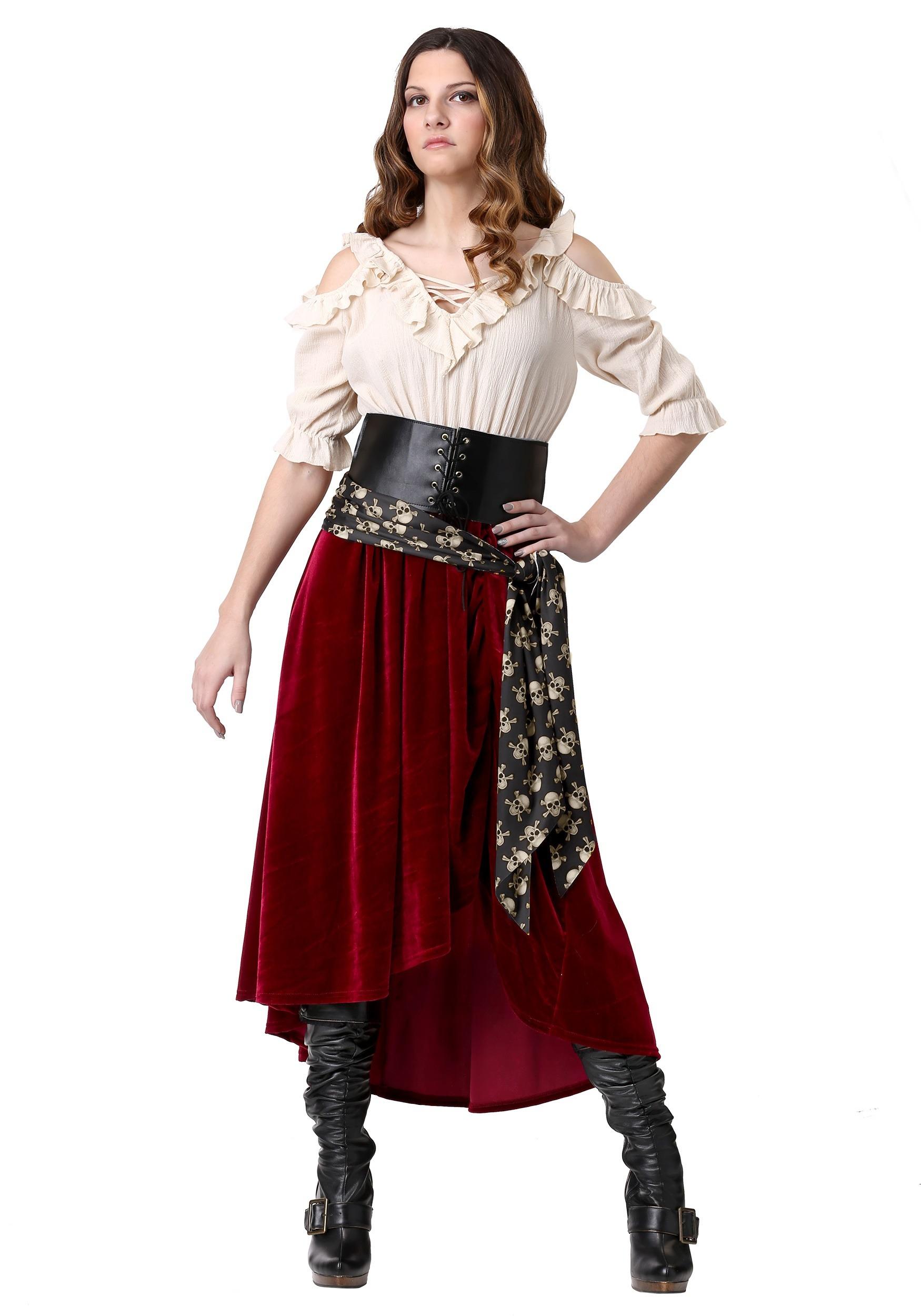 Roving Buccaneer Women's Costume