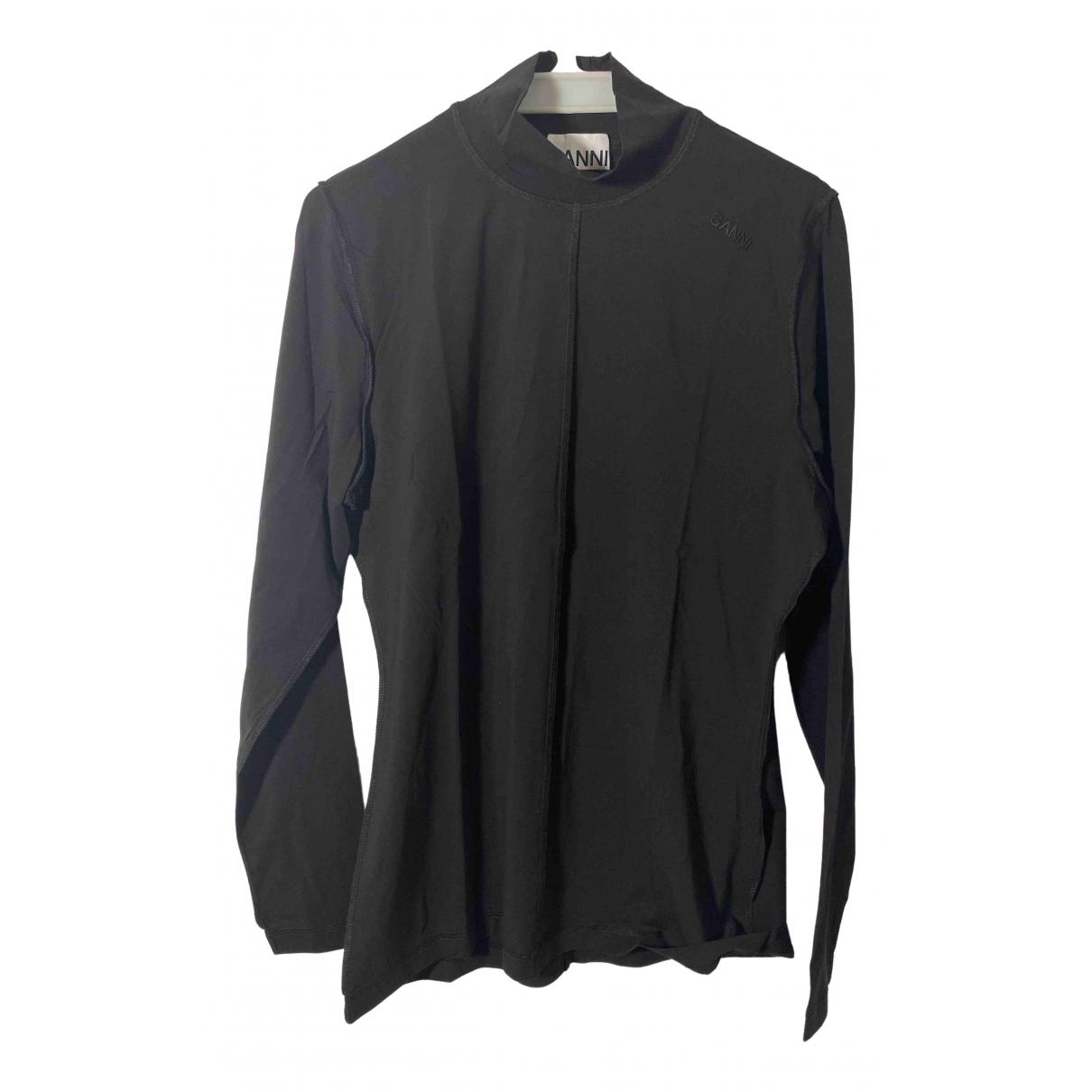 Ganni Fall Winter 2019 Black Cotton Knitwear for Women 42 FR