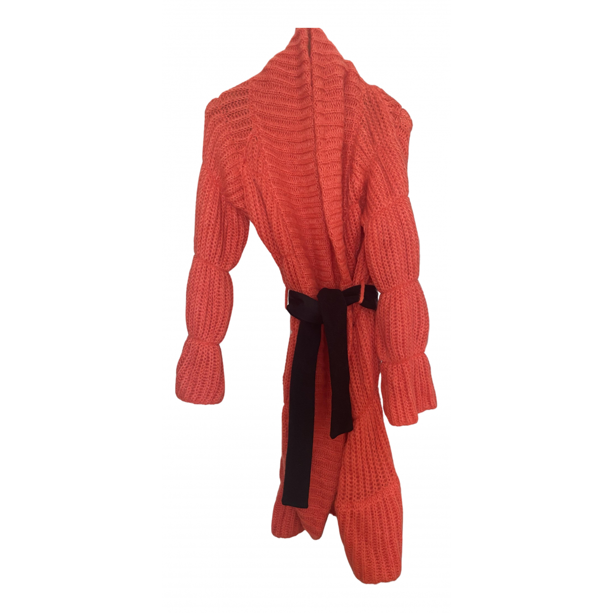 Giorgio Armani N Red Wool coat for Women 40 IT