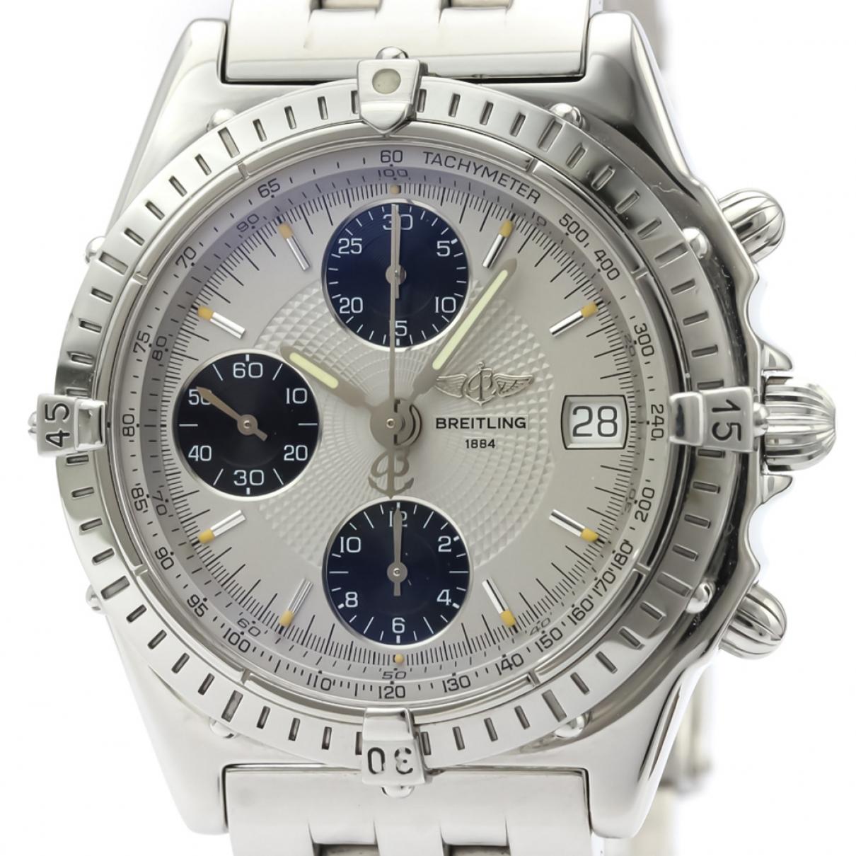 Breitling - Montre Chronomat pour homme en acier - gris