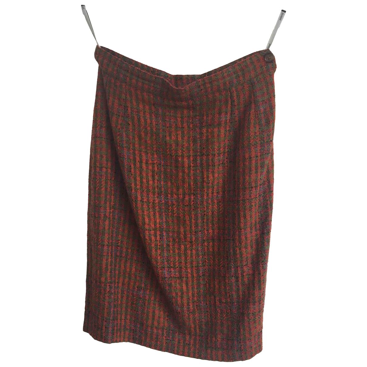 Yves Saint Laurent - Jupe   pour femme en laine - multicolore
