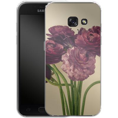 Samsung Galaxy A3 (2017) Silikon Handyhuelle - Purple Ranunculus 4 von Joy StClaire