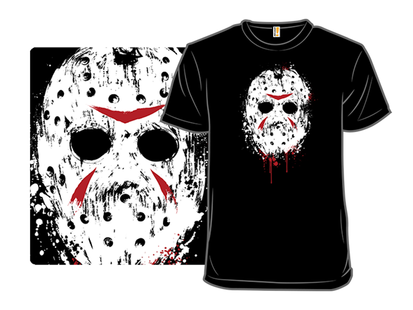 Death Behind The Mask T Shirt