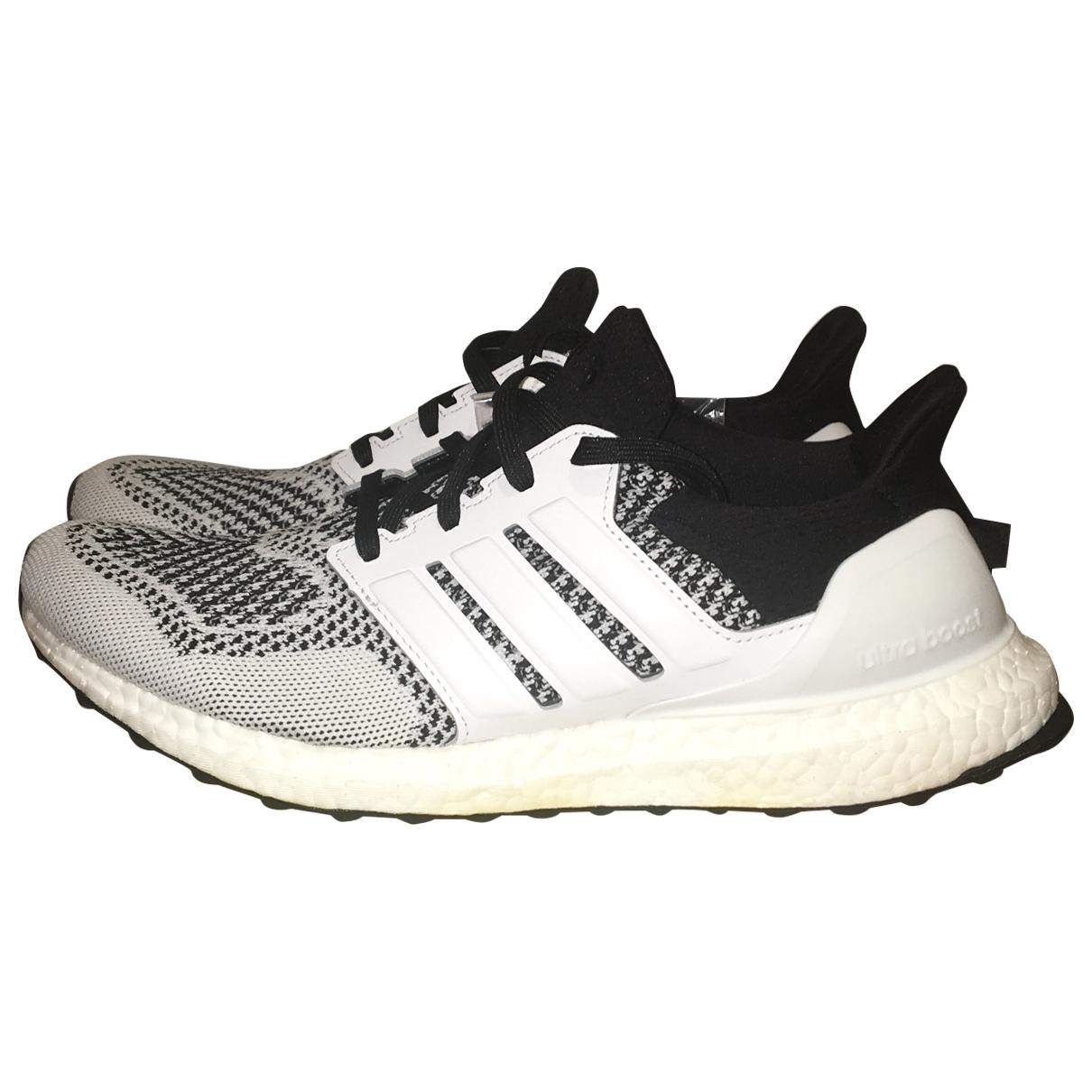 Adidas - Baskets Ultraboost pour homme en toile - blanc