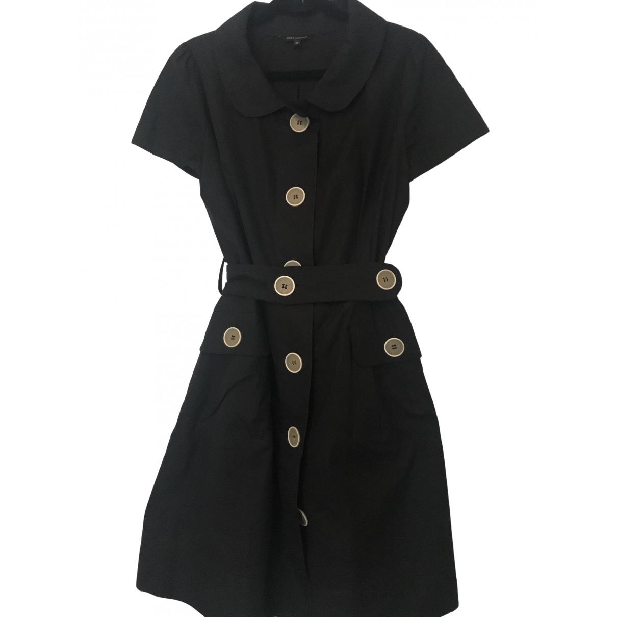 Tara Jarmon \N Black Cotton dress for Women 42 FR