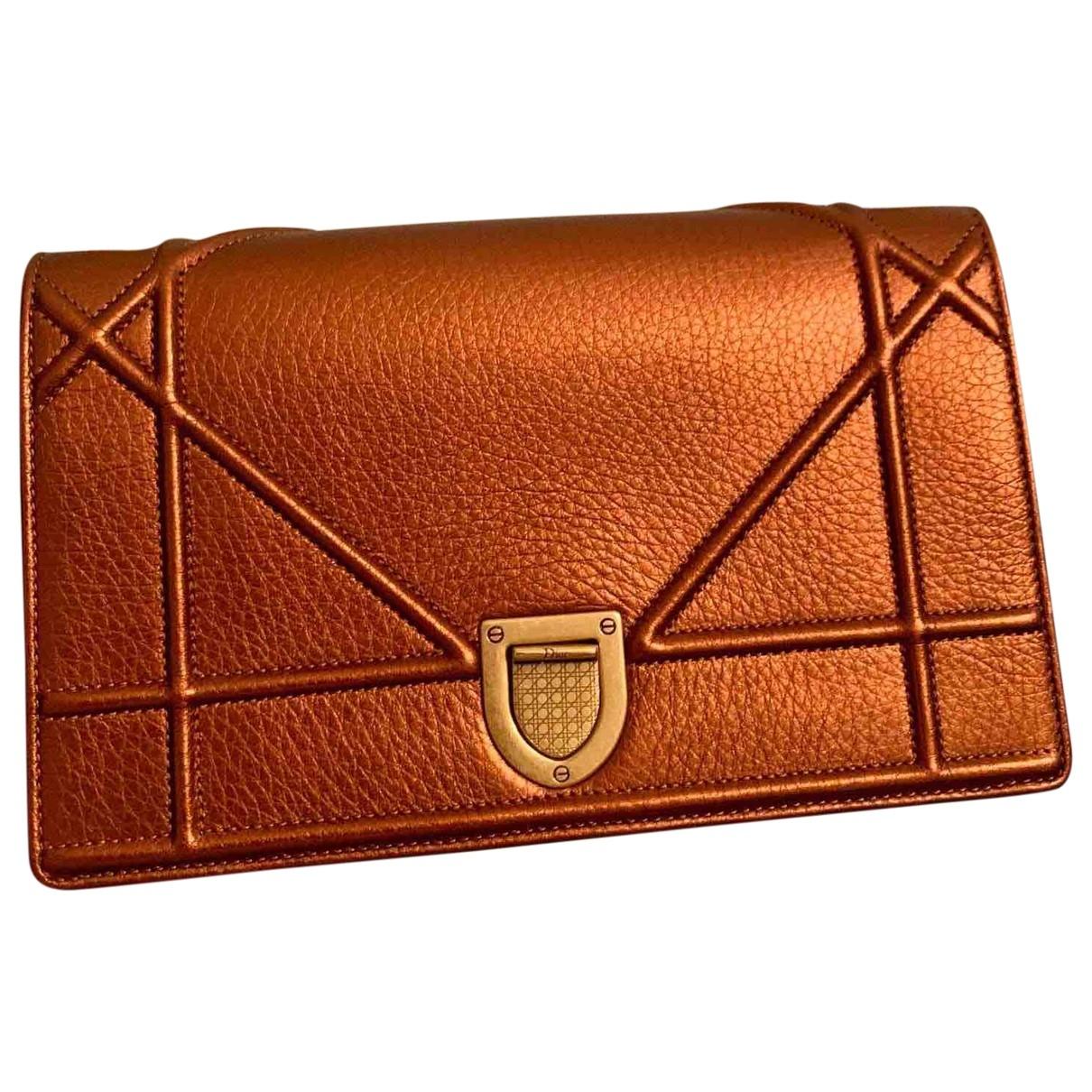 Dior Diorama Leather handbag for Women \N