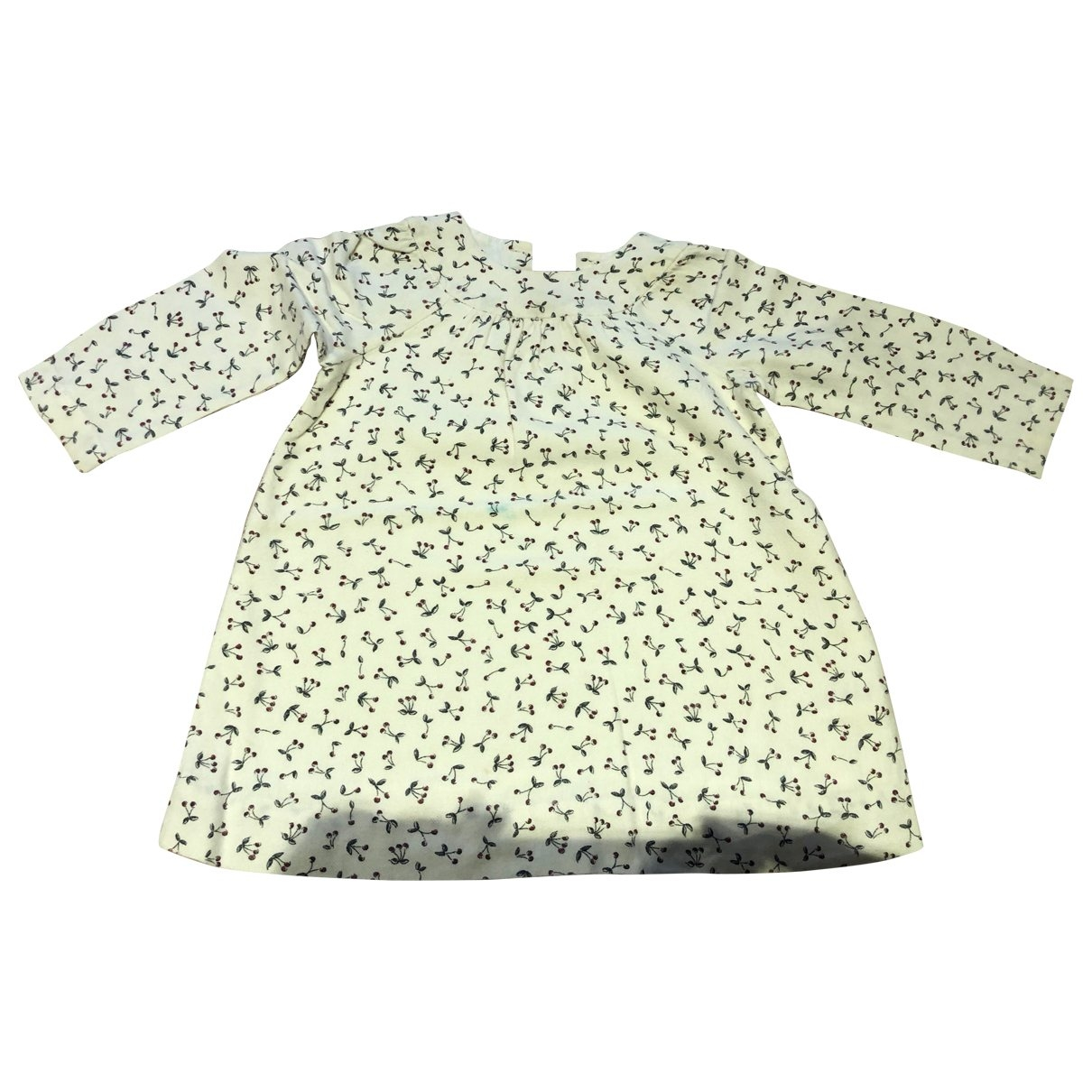 Bonpoint \N White Wool dress for Kids 2 years - up to 86cm FR