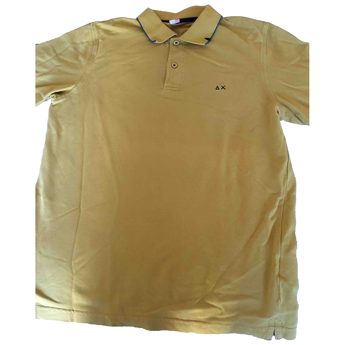 Non Signé / Unsigned N Yellow Cotton Polo shirts for Men S International