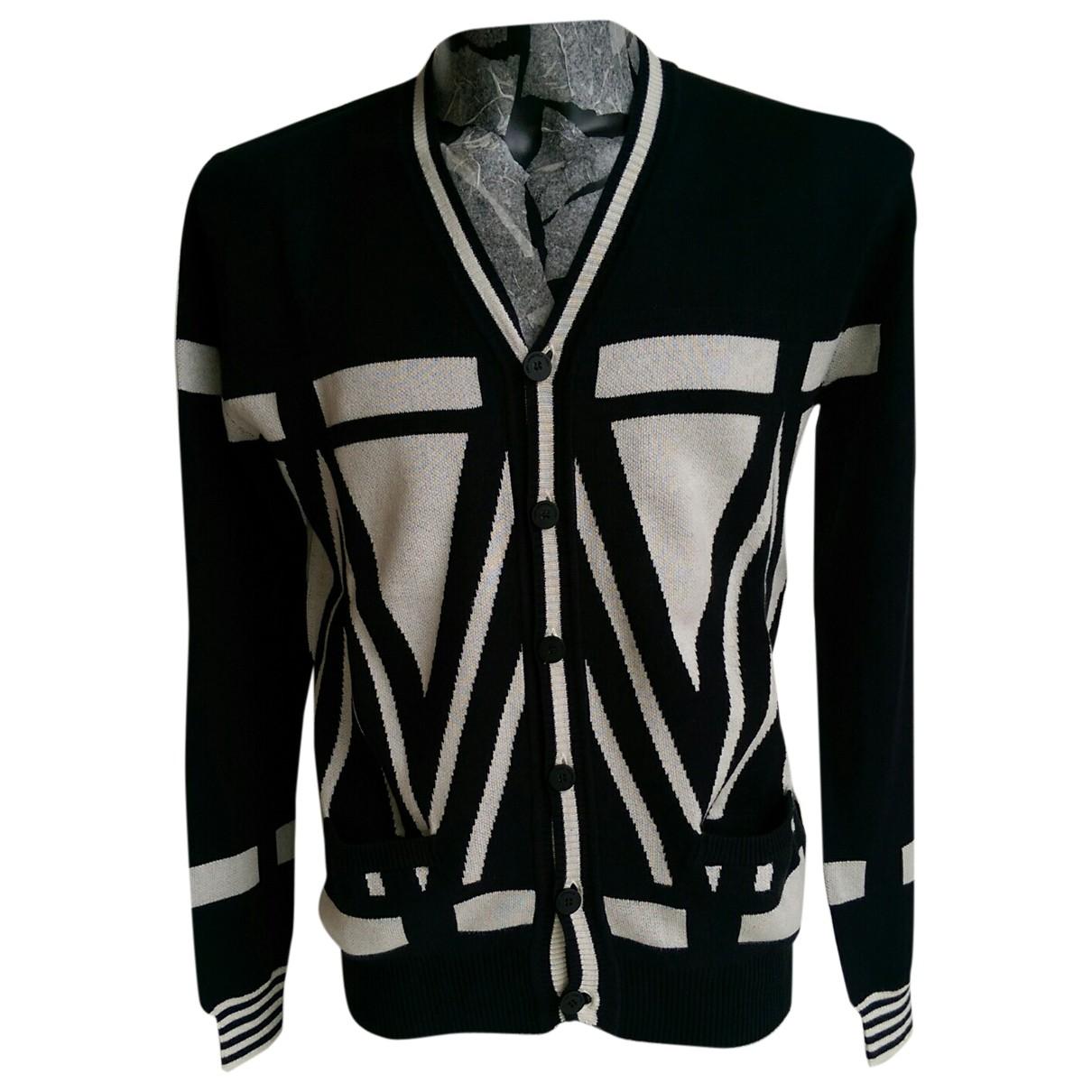 Karl Lagerfeld \N Pullover.Westen.Sweatshirts  in  Schwarz Viskose