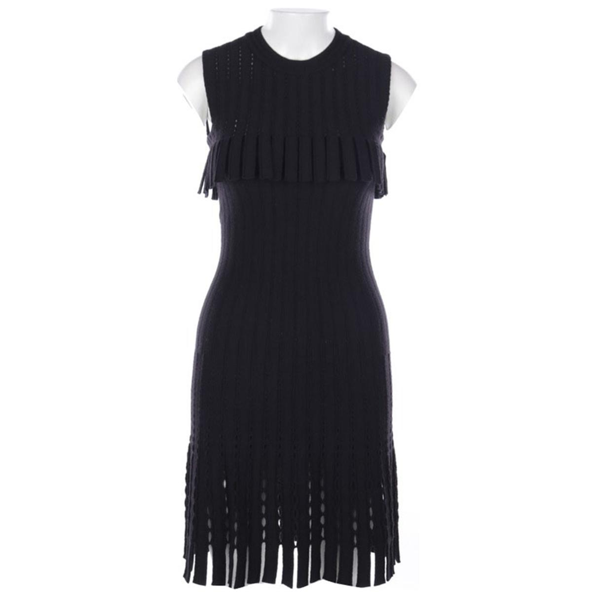 Alaïa \N Black Wool dress for Women 36 FR