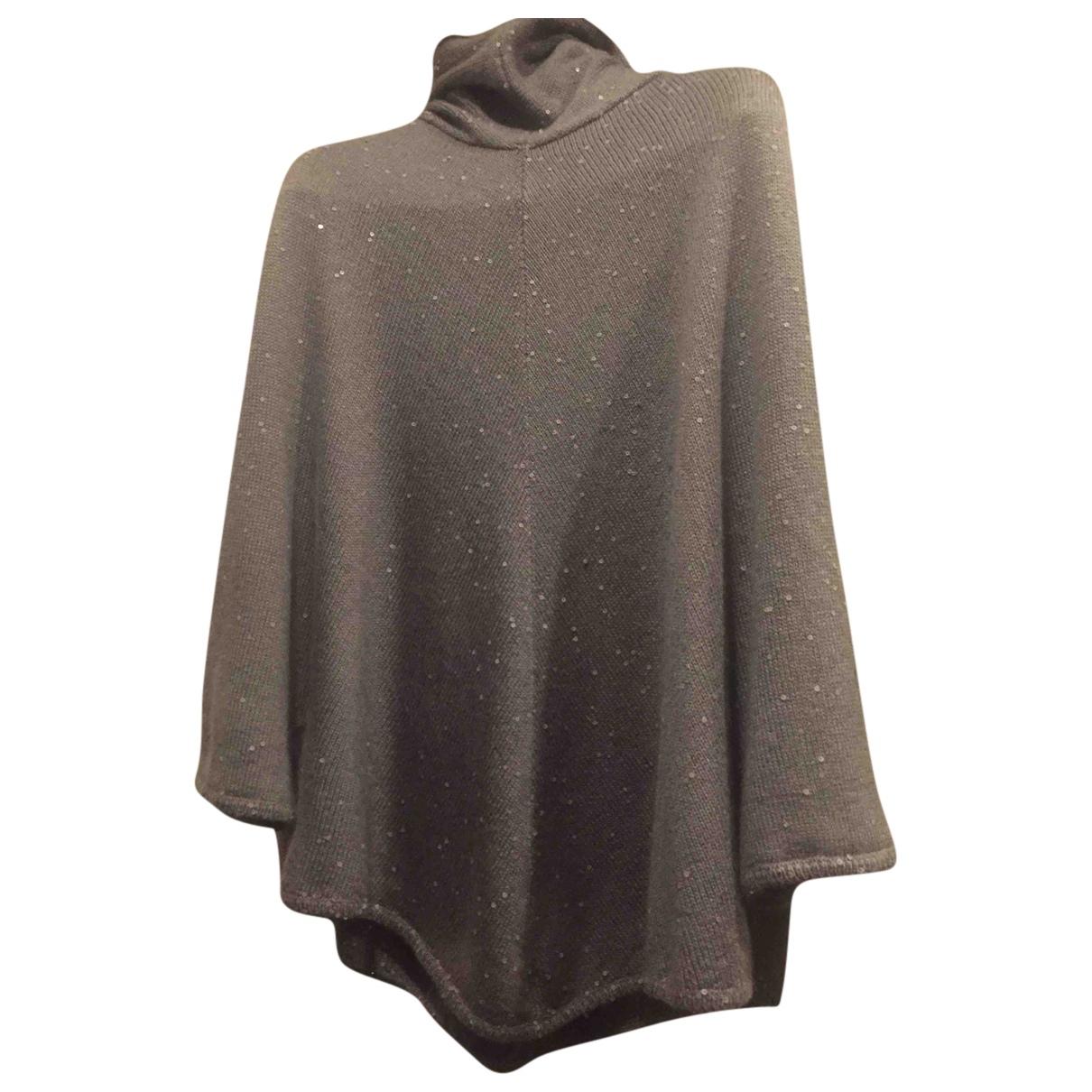 Brunello Cucinelli - Pull   pour femme en cachemire - gris