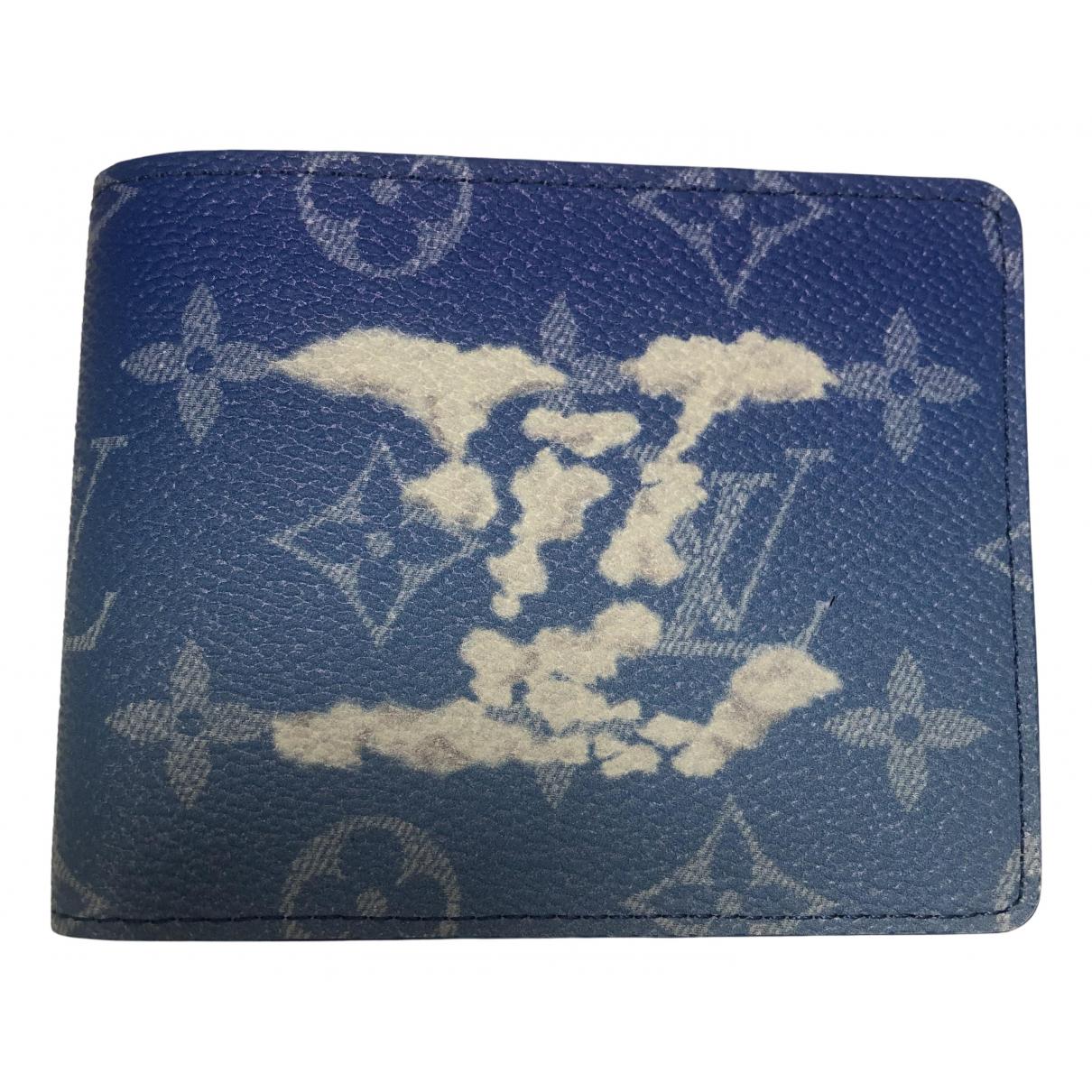Louis Vuitton - Petite maroquinerie   pour homme en toile