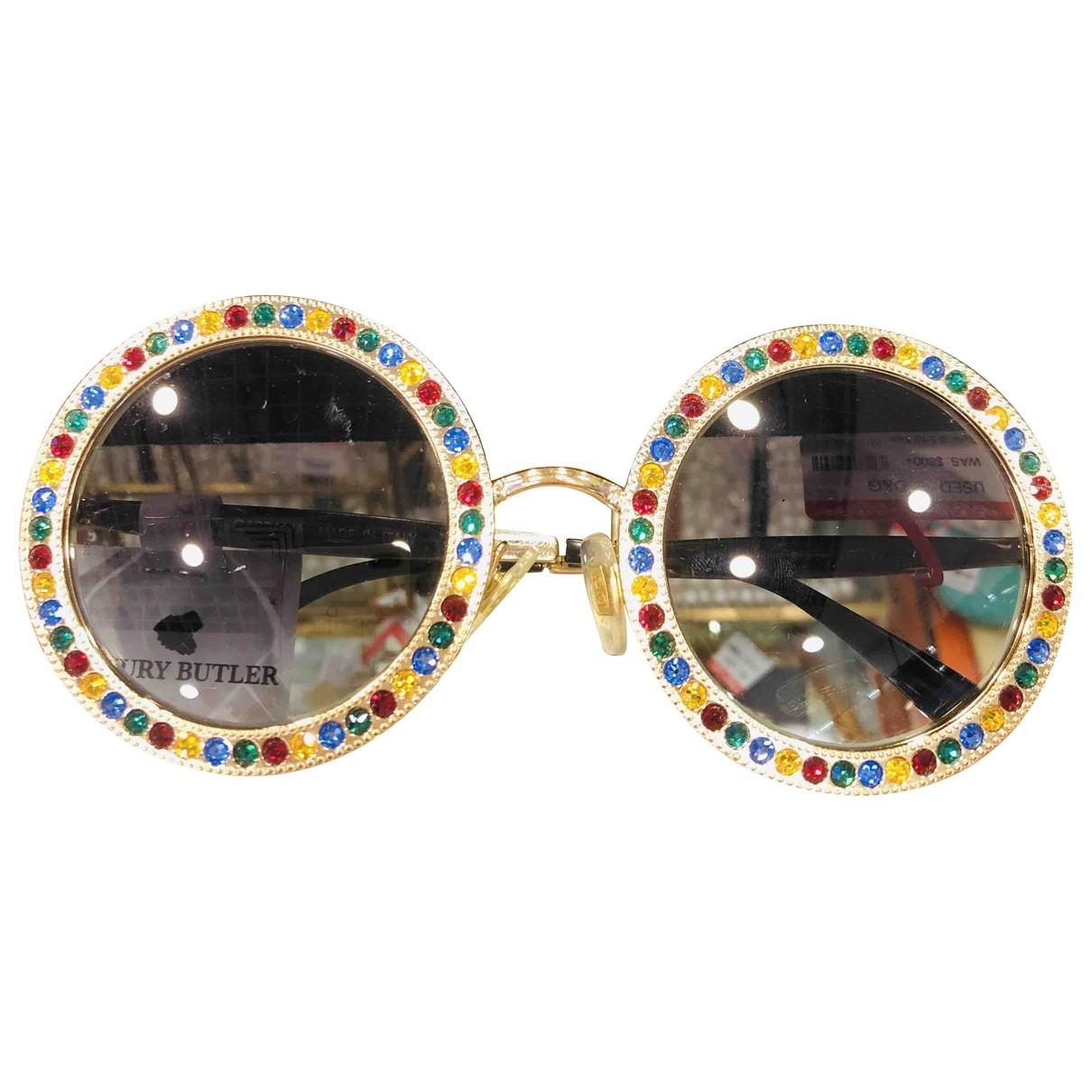 Dolce & Gabbana \N Multicolour Metal Sunglasses for Women \N