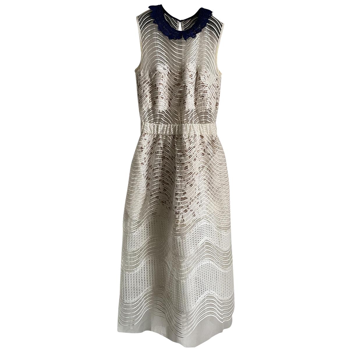 Self Portrait N White Lace dress for Women 6 UK