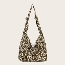 Bolso vagabundo de leopardo
