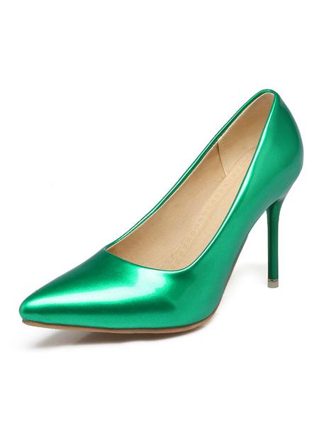 Milanoo Zapatos de tacon alto para mujeres con tacon alto en punta