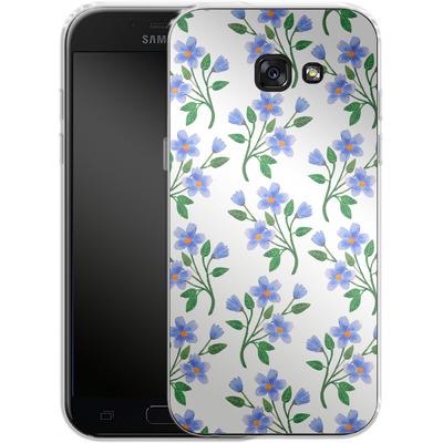 Samsung Galaxy A5 (2017) Silikon Handyhuelle - Fresh Bloom von Iisa Monttinen