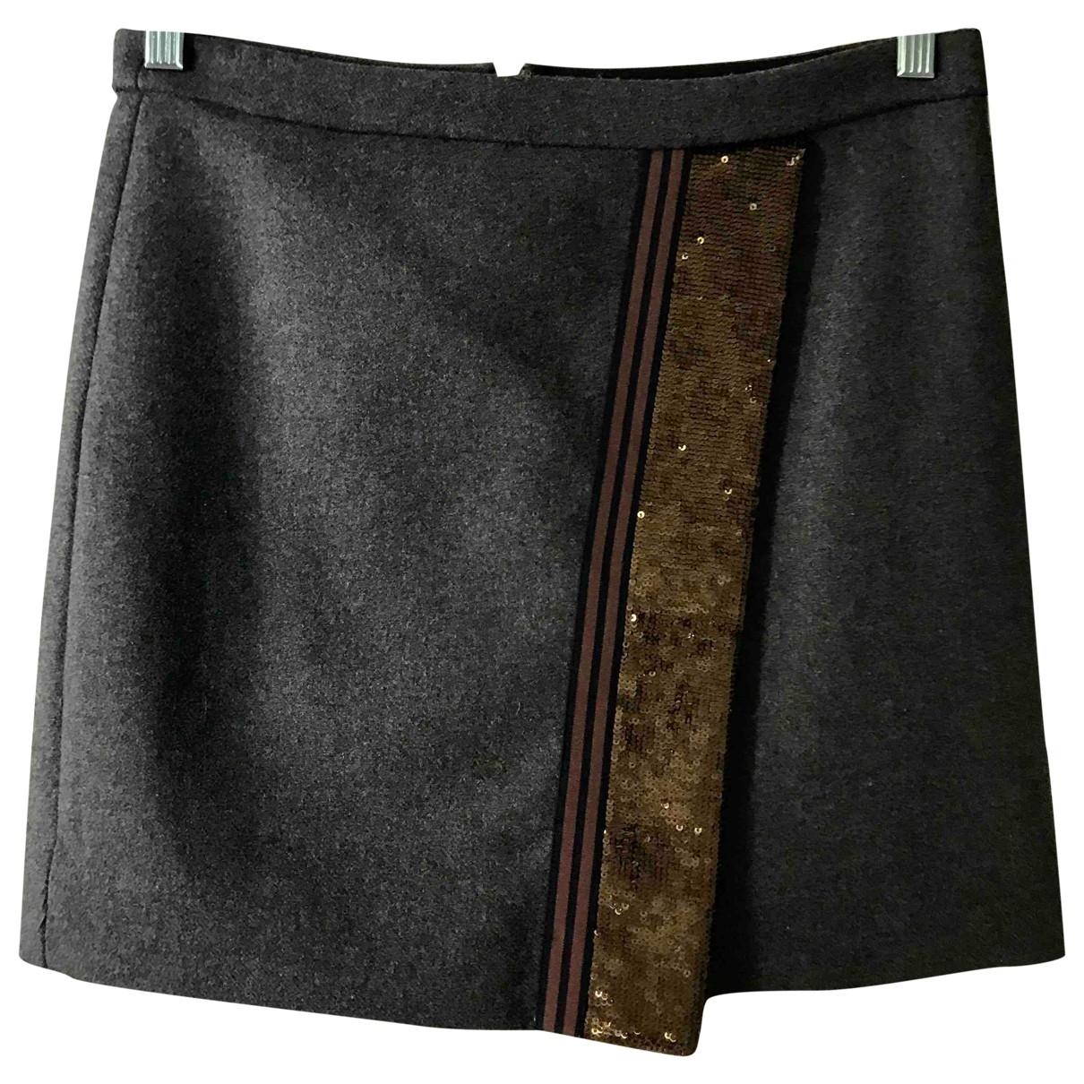 Mini falda de Lana J.crew