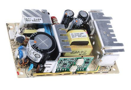 Artesyn Embedded Technologies , 65W Embedded Switch Mode Power Supply SMPS, 12V dc, Open Frame