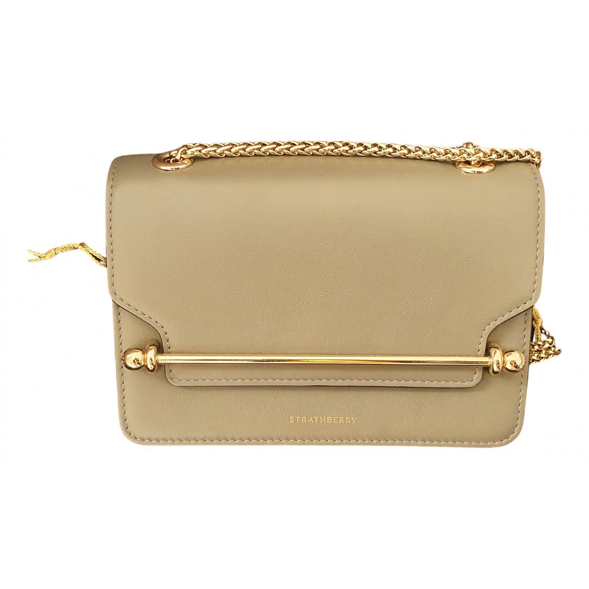 Strathberry N Grey Leather handbag for Women N