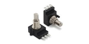 CTS Linear Carbon Potentiometer with an 6.35 mm Dia. Shaft - 10kΩ, ±10%, 1/2W Power Rating, Linear, Bushing Mount