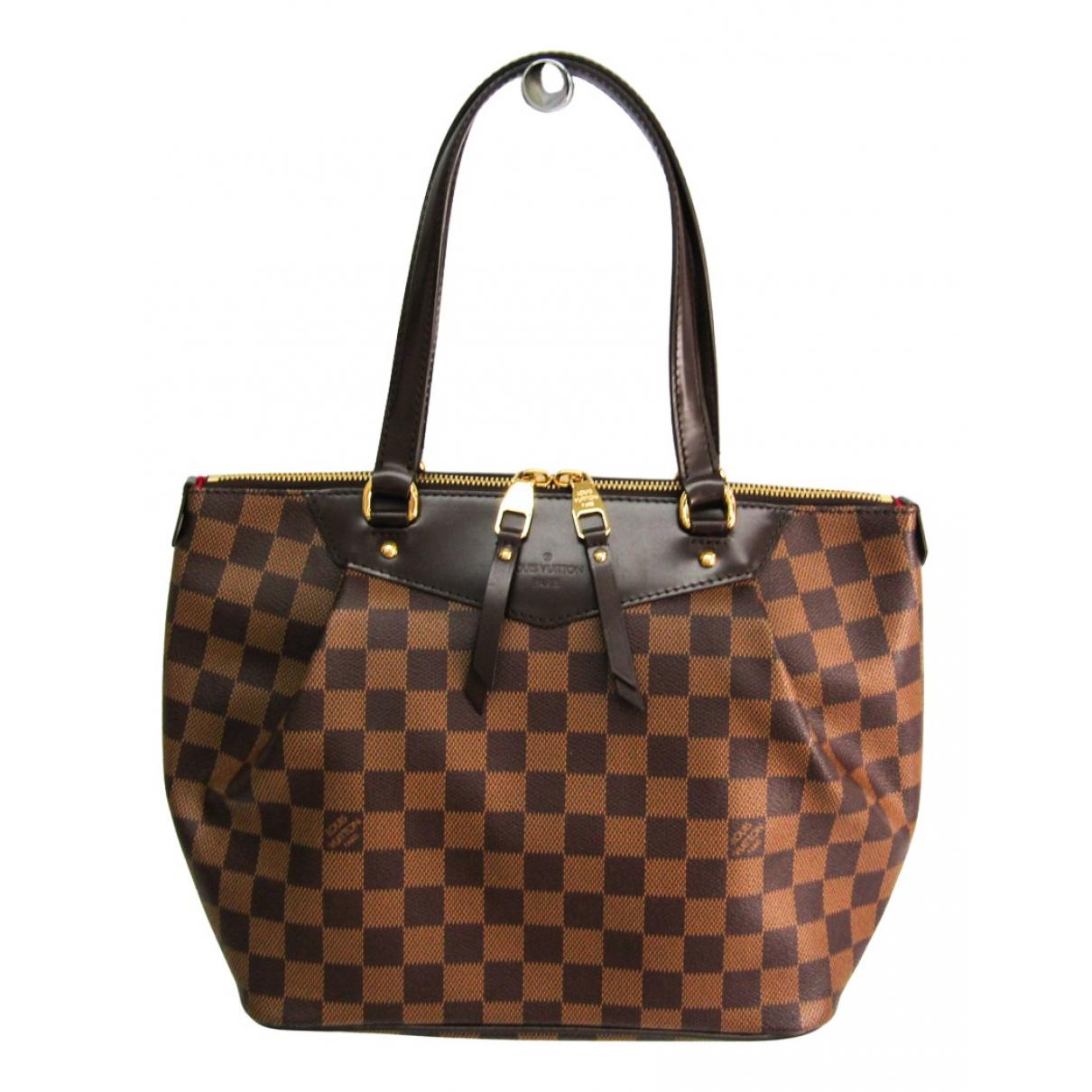 Louis Vuitton Westminster Brown Cloth handbag for Women N