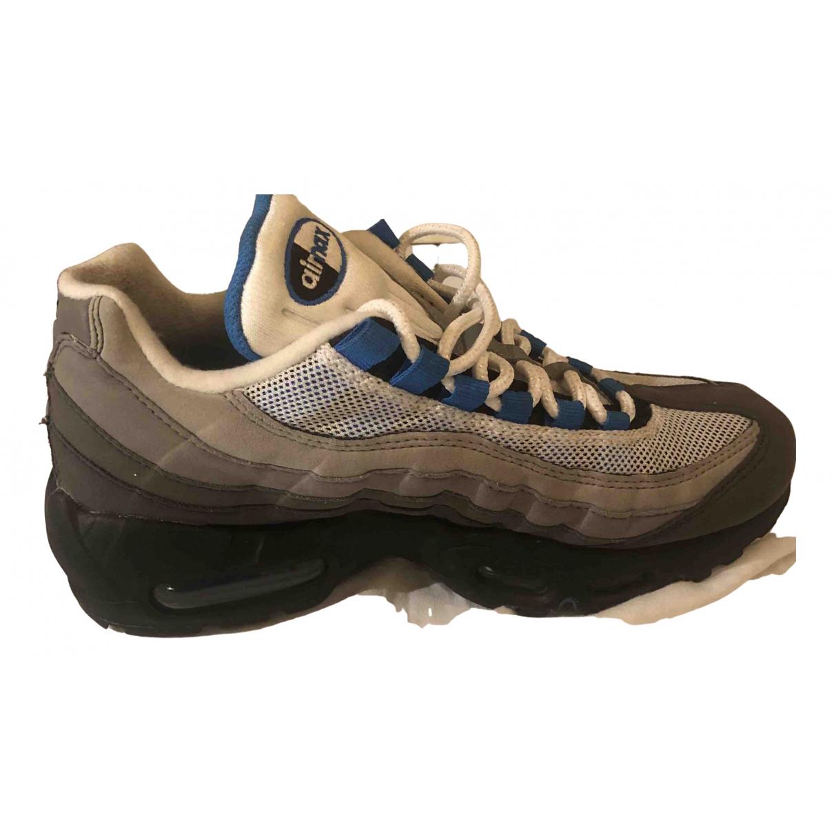 Nike - Baskets Air Max 95 pour femme en toile - gris