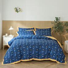 Set de cama con dibujos animados sin relleno