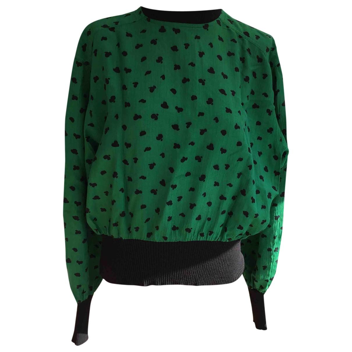 Ungaro Parallele \N Green Knitwear for Women 42 FR