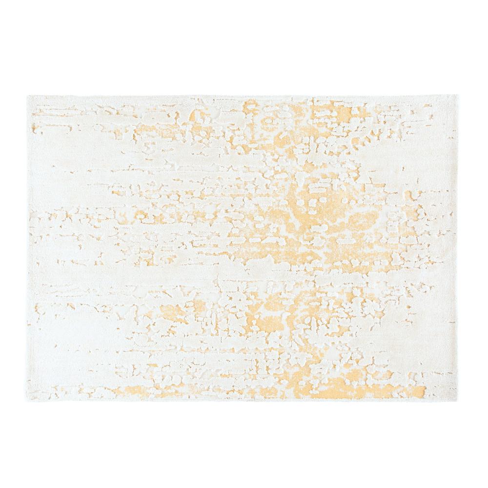 Weisser und beiger teppich 160x230