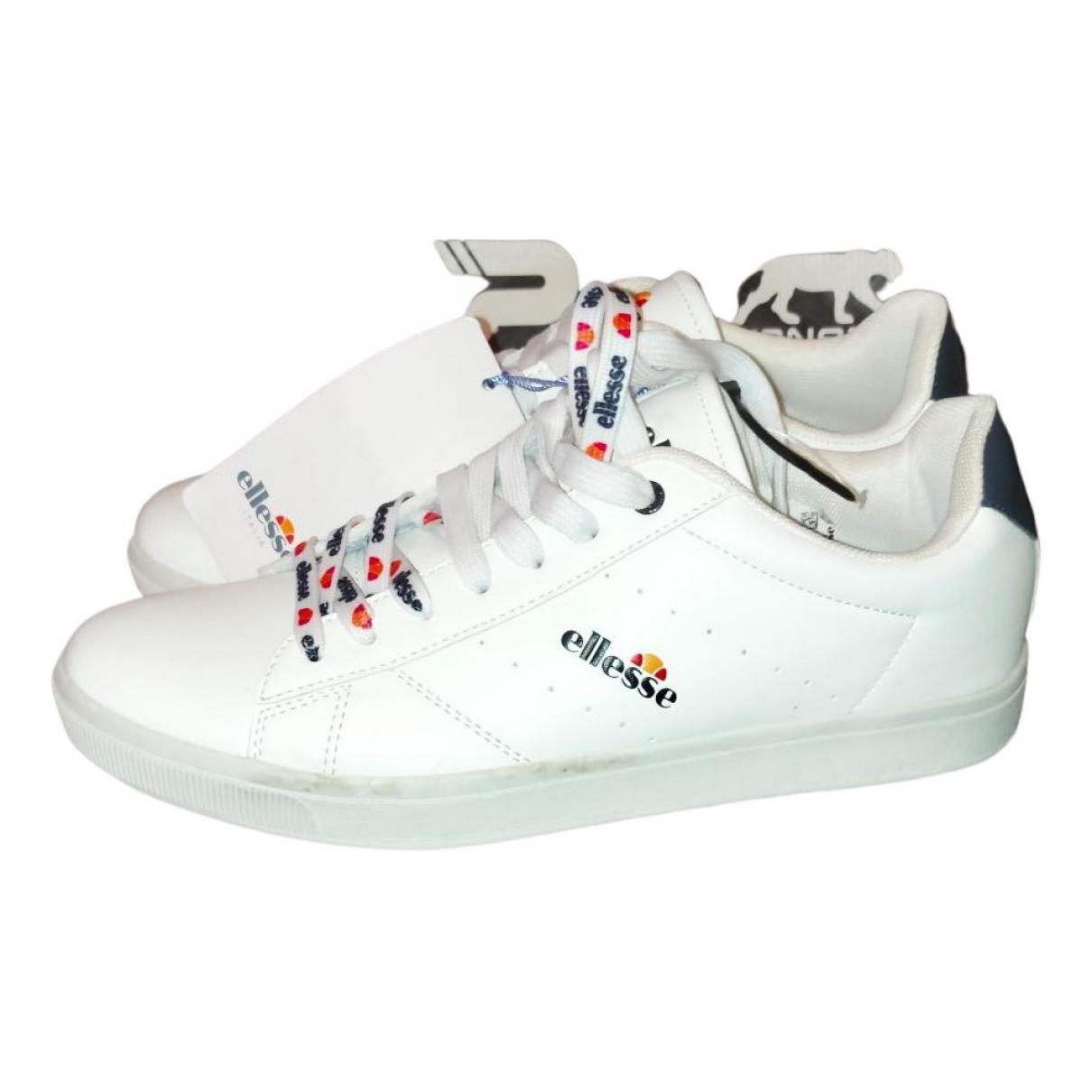Ellesse \N Sneakers in  Weiss Kautschuk