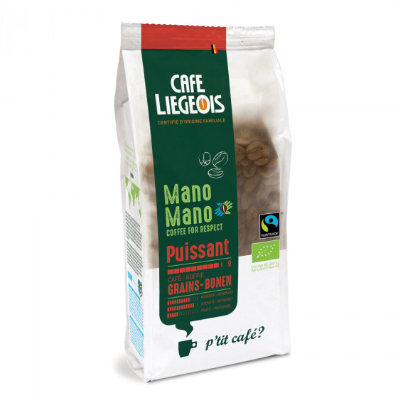 """Kaffeebohnen Cafe Liegeois """"Mano Mano Puissant"""", 250 g"""