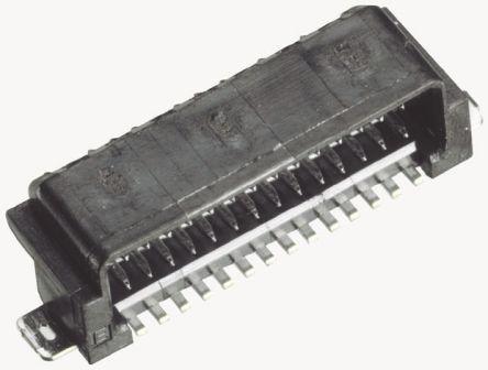 JAE , IL-WX, 6 Way, 2 Row, Right Angle PCB Header (10)