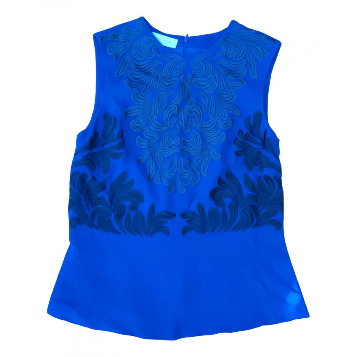 Stella Mccartney - Top   pour femme - bleu
