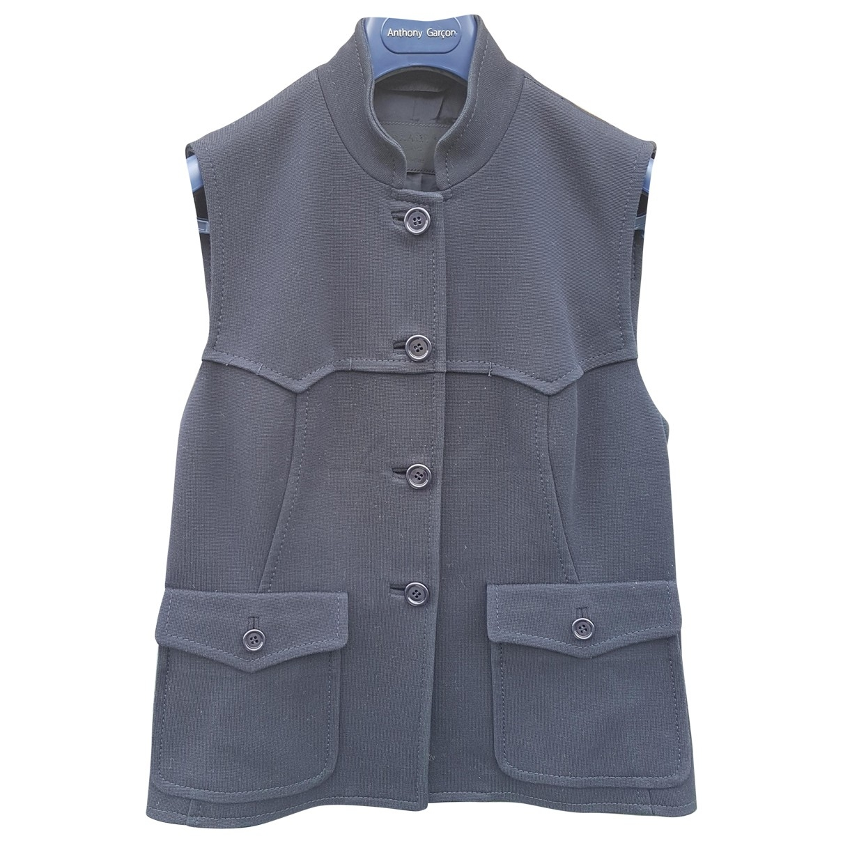 Prada \N Blue Cotton jacket for Women 44 IT