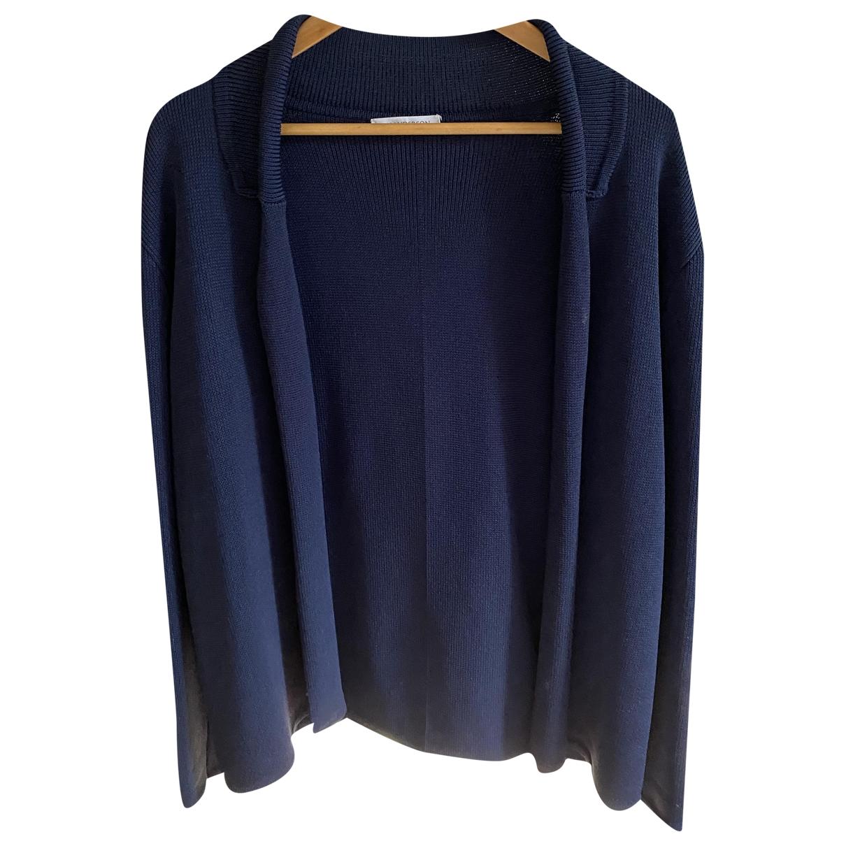 J.w. Anderson \N Pullover.Westen.Sweatshirts  in  Marine Viskose