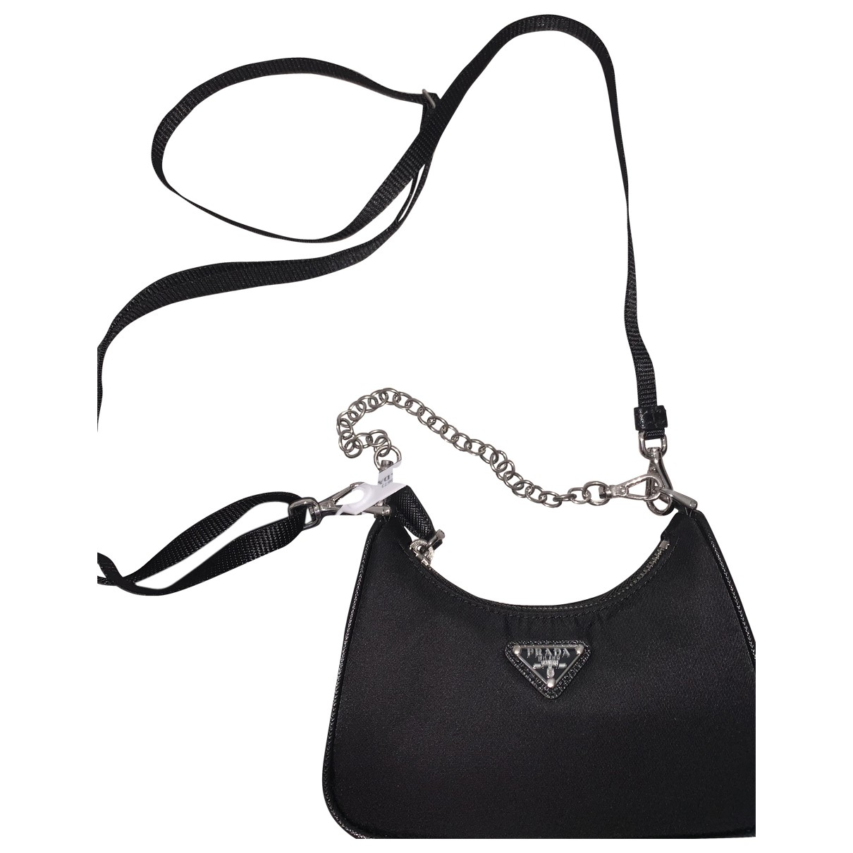 Prada Re-edition Black Cloth handbag for Women \N