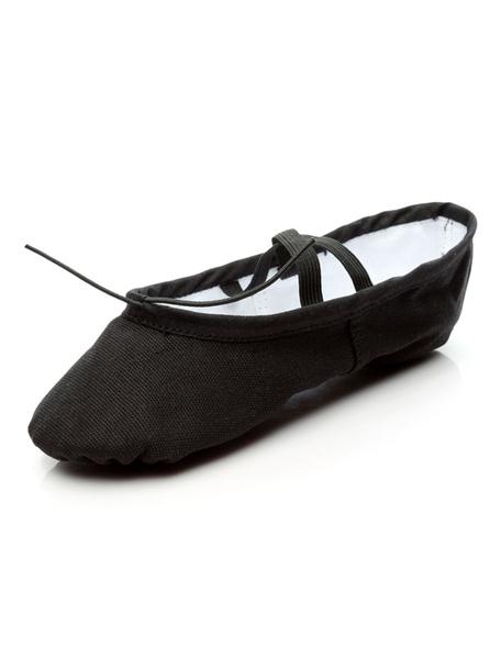 Milanoo Zapatillas de ballet de tela comodas