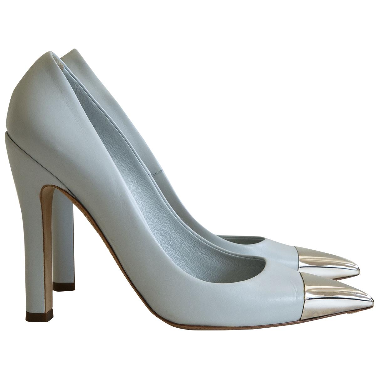 Louis Vuitton - Escarpins   pour femme en cuir - blanc
