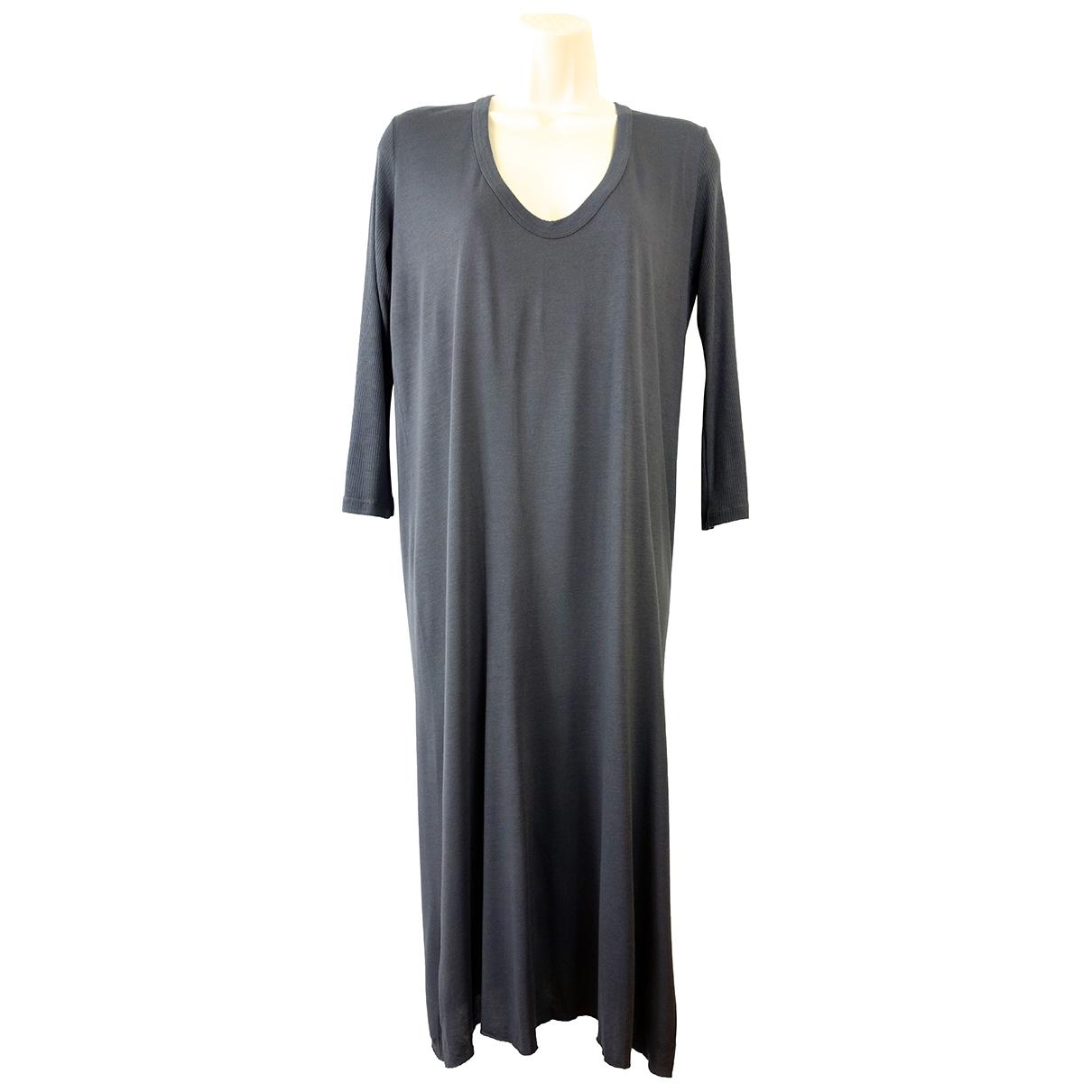 Rick Owens \N Kleid in  Grau Seide