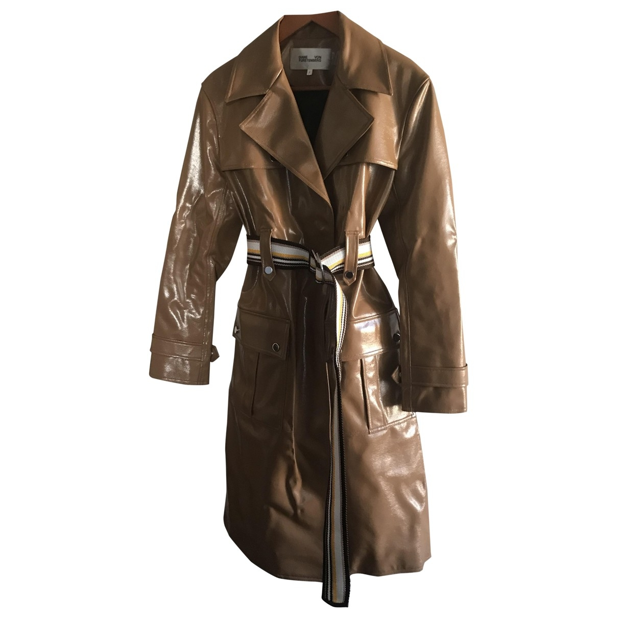 Diane Von Furstenberg \N Brown coat for Women 6 US